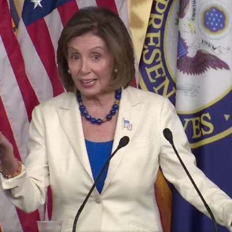 PELOSI: 'The Republicans Are in Denial About the Facts,' Impeachment 'Not Partisan'