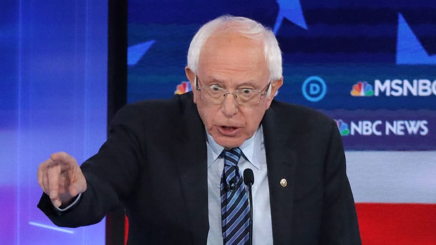 Partner Content - There's a Debate? Bernie Demands 18-Year-Olds 'Have the Right to Vote, E...