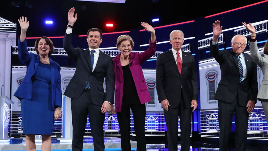 Partner Content - NO THANKS: Ratings for MSNBC's Democratic Debate Down 50% Since September