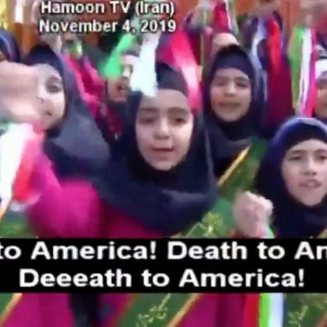 Watch: Iranian Schoolgirls Chant 'Death to America!' on Anniversary of Embassy Take-Over