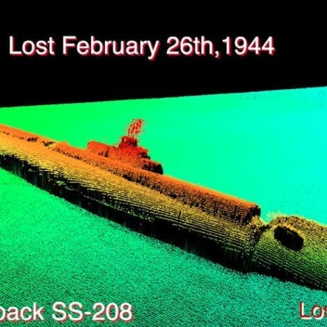 HISTORIC FIND: WWII US Submarine Missing for 75 Years Discovered Off Coast of Japan
