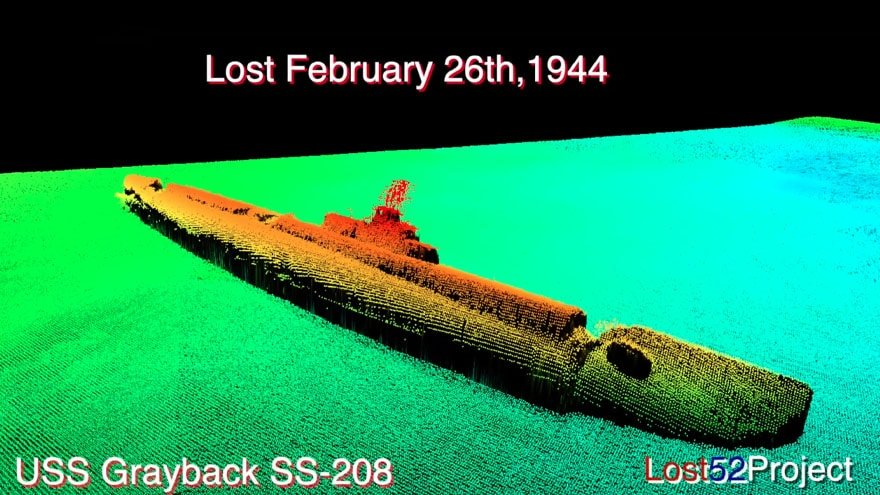 Partner Content - HISTORIC FIND: WWII US Submarine Missing for 75 Years Discovered Off Coa...