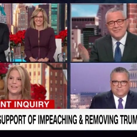 BUBBLE BURSTS: CNN Hosts Shocked By Their Own Poll Showing Dem Support for Impeachment DOWN 13%