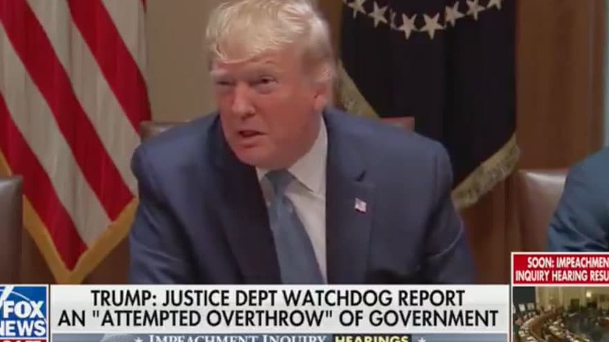 Partner Content - TRUMP on IG REPORT: 'This Was An Attempted Overthrow' of Government