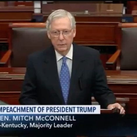 McCONNELL: Democrats' LOW BAR 'Invites the Impeachment of Every Future President'