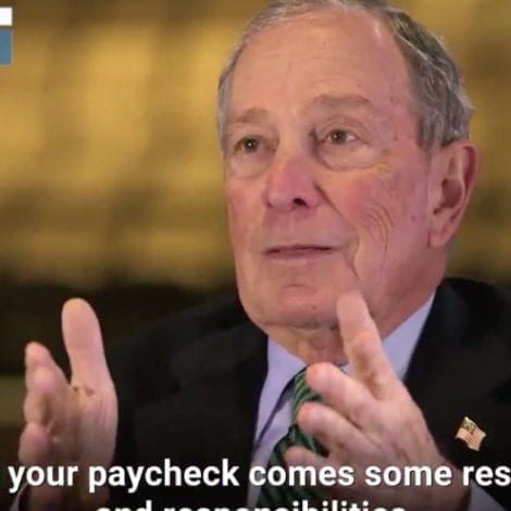 'LIVE WITH IT': Bloomberg Tells All Employees Earning a Paycheck They Can't Investigate… HIM