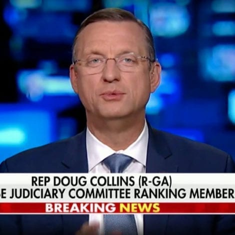 COLLINS ON HANNITY: 'We Have the Facts on Our Side, All They Have is Hatred of President Trump'
