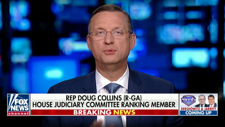 Partner Content - COLLINS ON HANNITY: Democrats' Document Dump an Effort to Deflect Their ...