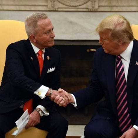 DEM FLIPS: New Jersey Democrat Meets With Trump, Joins Republican Party