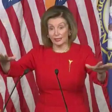 NERVOUS NANCY: Pelosi Clams Up on Impeachment, Says She's 'Not Prepared' to Send Articles to Senate