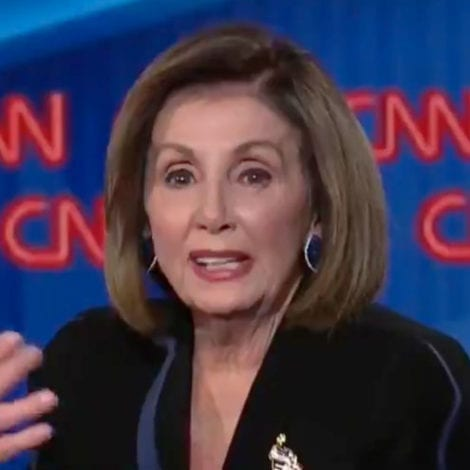 PELOSI CLAMS UP: 'Can We Not Have Any More Questions About Impeachment'