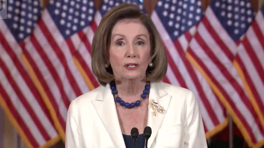 Partner Content - PELOSI: Articles of Impeachment Not About 'Proof' But 'Allegations That ...