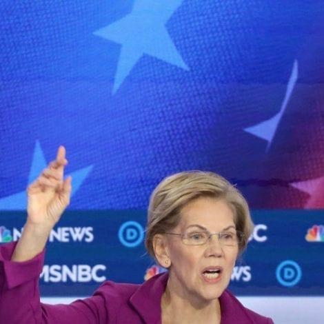 WARREN SINKING: Sen. Warren Plunges to Third Place in Latest National Poll