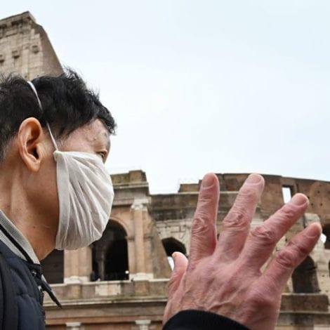 VIRUS GOES GLOBAL: Coronavirus Confirmed in Rome, Cases 'Surge 3,000%' in China