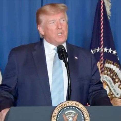 TRUMP SPEAKS: The President Confirms US Drone Strike 'Killed the Number One Terrorist in the World'
