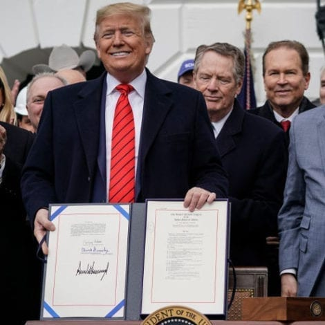 MAKING HISTORY: President Trump Signs New North America Trade Deal, Biggest Agreement of All Time