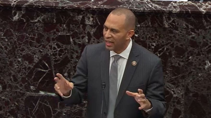 Partner Content - HAKEEM JEFFRIES: Trump Call to Ukraine Similar to Civil War, Great Depre...