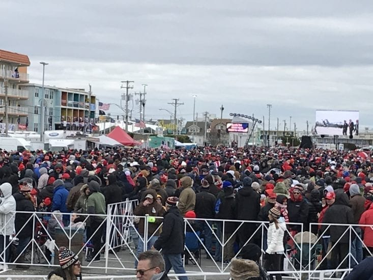 MAGA TAKES JERSEY SHORE: Thousands Gather Before Massive Trump Rally in NJ, See EXCLUSIVE Photos