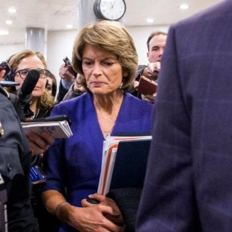 BREAKING NOW: Sen. Murkowski to Vote AGAINST Further Witnesses in Impeachment Trial