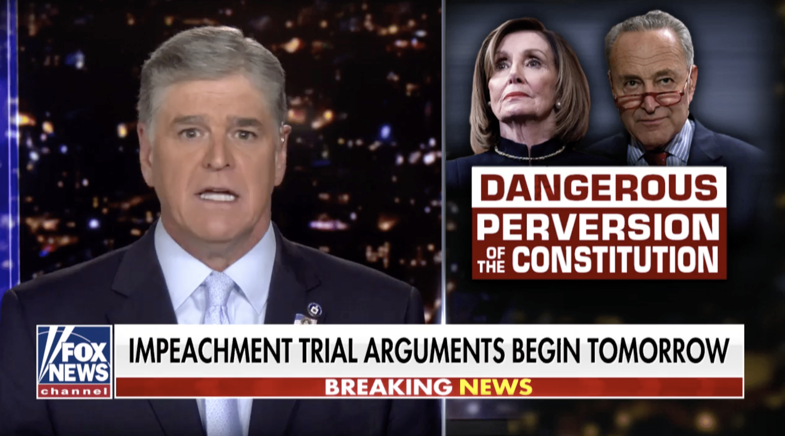 Partner Content - HANNITY: Democrats' Weak Articles of Impeachment 'Are an Affront to the ...