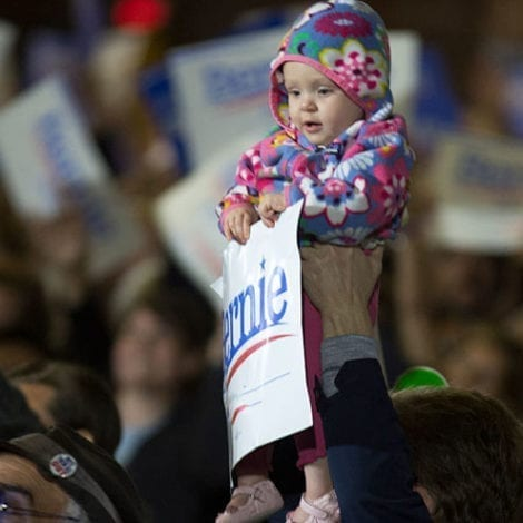 FREE KIDS! Bernie Says 'Cost of Having a Baby Under Medicare for All' is $0.00