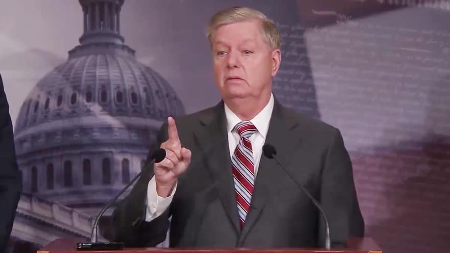 Partner Content - GRAHAM'S STAND: Sen. Graham Says House Managers Trying to 'Destroy the P...