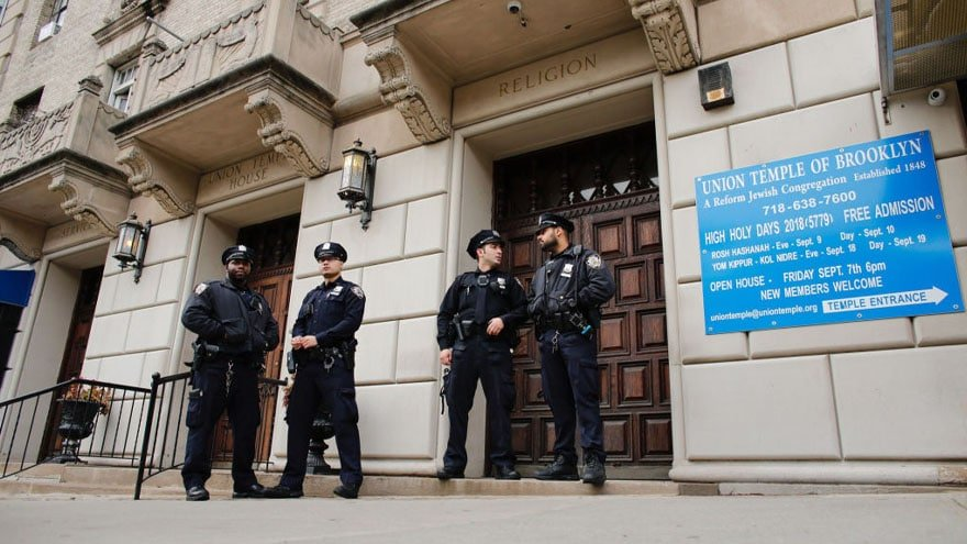 Partner Content - HATE in NYC: Swastikas, 'F*** Jews' Graffiti Found in Apartment Complex ...