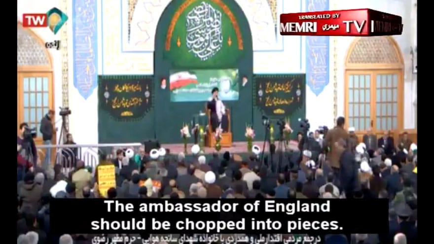 Partner Content - AYATOLLAH: UK Ambassador Should Be 'Chopped Into Pieces' for Attending U...