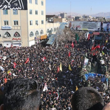 CHAOS IN IRAN: Soleimani Funeral Procession Stampede Leaves 40 Dead, Hundreds Injured
