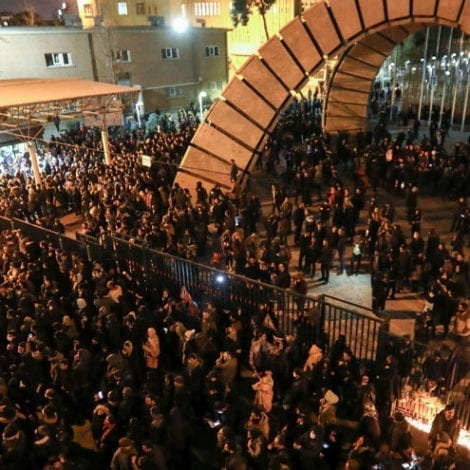 IRAN ON EDGE: Pro-Democracy Protesters Take the Streets of Iran, Chant 'Death to the Dictator'