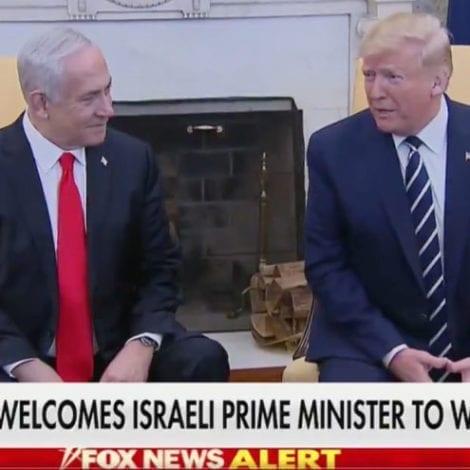 BREAKING NOW: President Trump, Netanyahu to Announce New Mideast Peace Plan Tomorrow
