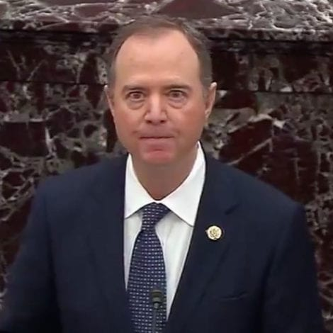 PLAN B: Adam Schiff Says Trump's Presidency 'Cannot Be Decided at the Ballot Box'