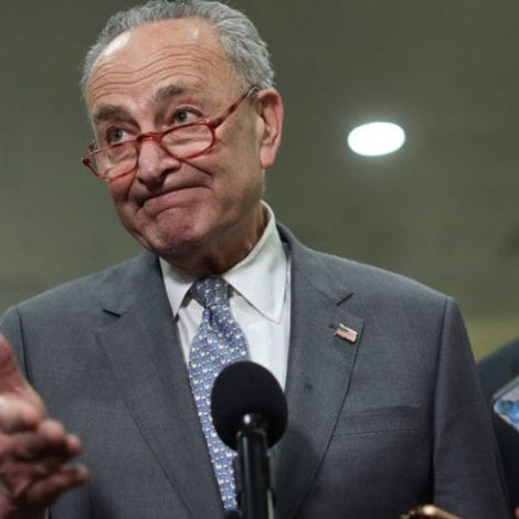 'CAN'T MAKE THIS UP': Chuck Schumer's Guest Booted from Impeachment Trial Over GPS Ankle Bracelet, Felony Charges
