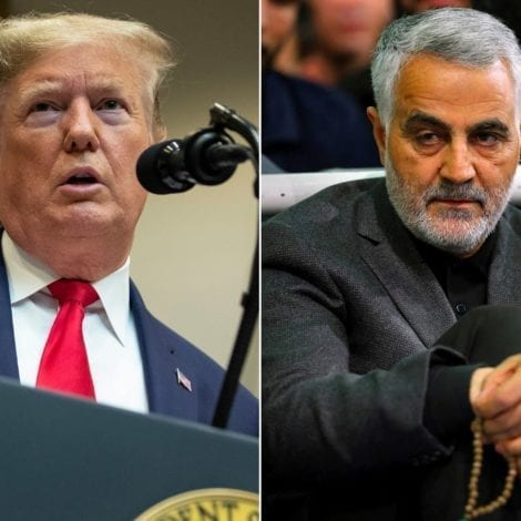 REPORT: Iranian General Soleimani Was Coordinating Attacks on Four Different US Embassies