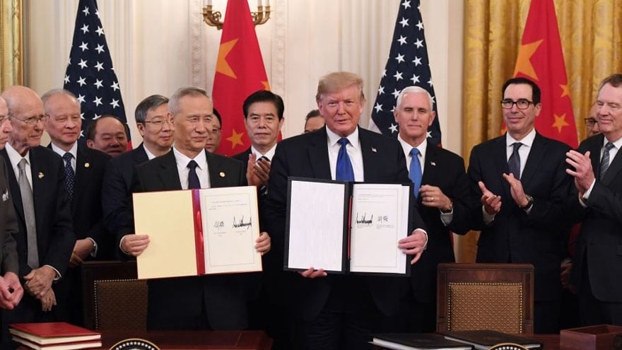 Partner Content - BREAKING NOW: United States-China Sign Historic 'Phase One' Internationa...