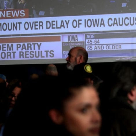 HOW CONVENIENT: Iowa Democrats Blame TRUMP SUPPORTERS for Caucus Chaos, Say 'Flooded Hotlines'