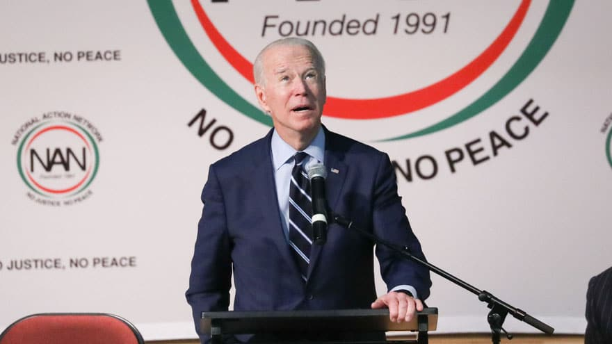 image for BIDEN in CAROLINA: 'Sometimes I Wake Up and Think It's 1920'