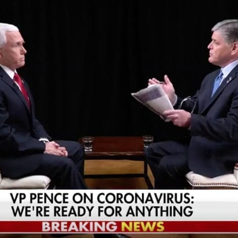 PENCE ON CORONAVIRUS: 'We're Ready for Anything'