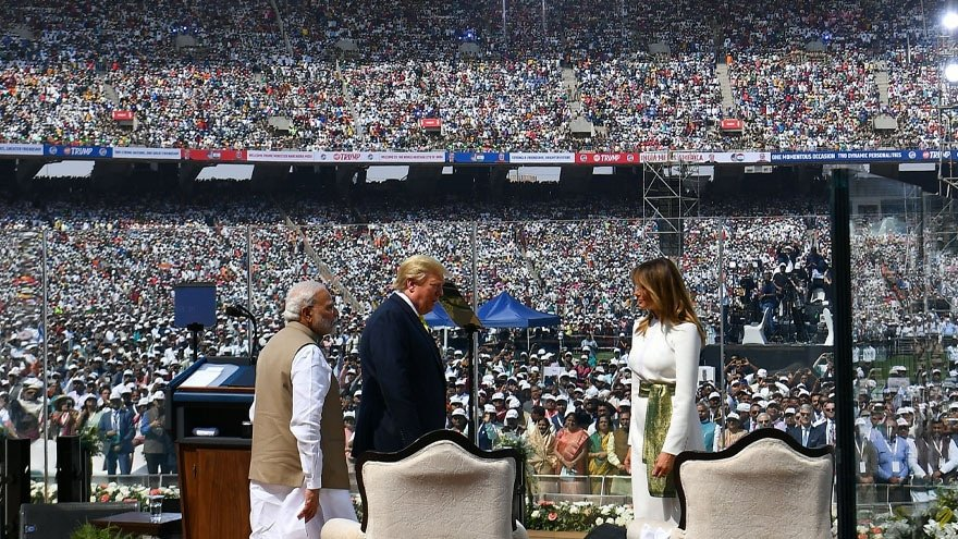 image for TRUMP TO INDIA: The President and First Lady Tour the Taj Mahal, Unveil ...
