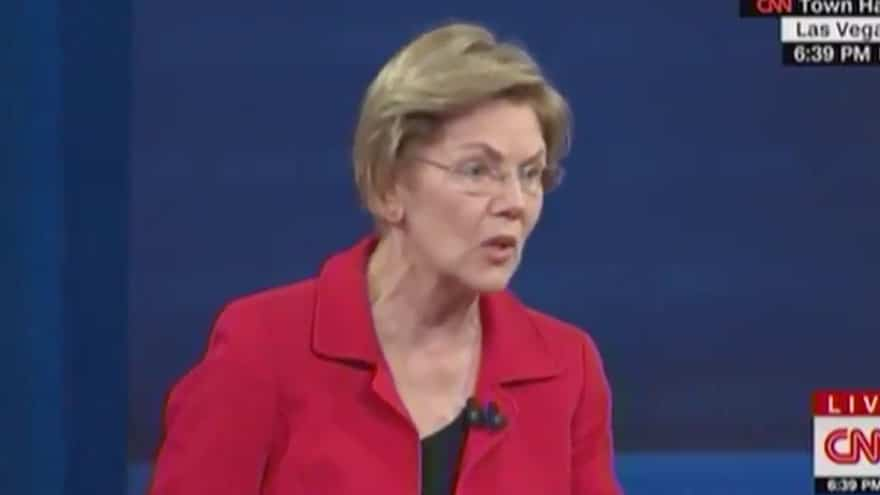 image for WARREN: Green New Deal Doesn't Go Far Enough, US Needs 'BLUE New Deal' t...