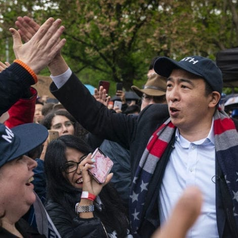THAT WAS FAST: CNN Hires 2020 Democrat Andrew Yang as Newest Political Commentator