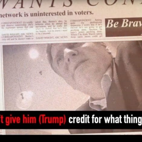 ABC EXPOSED! Undercover Footage Shows Veteran Reporter Saying Network Won't 'Give Trump Credit'