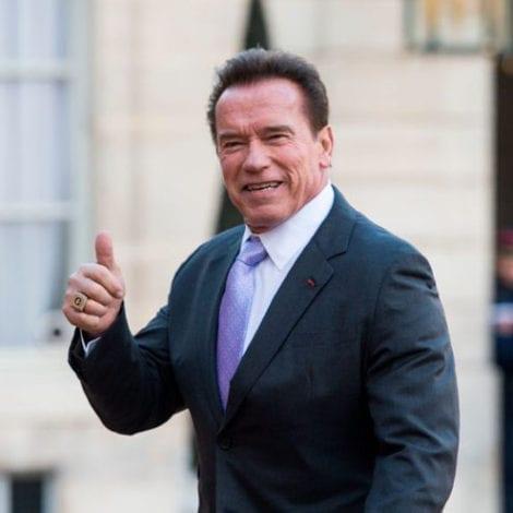 ARNOLD THANKS DONALD: Schwarzenegger Praises the President for His Handling of the Homeless Crisis