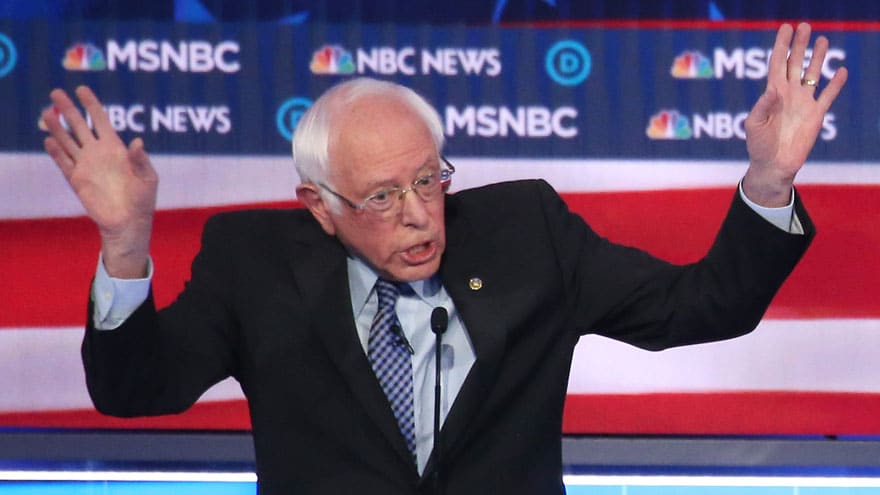 image for HERE WE GO AGAIN: Bernie Suggests RUSSIA to Blame for His Supporters Nas...