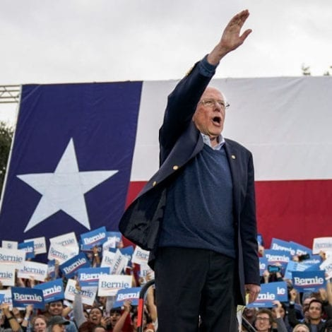 BERNIE in TEXAS: 'Undocumented' Immigrants 'Entitled to Basic Human Rights' in America