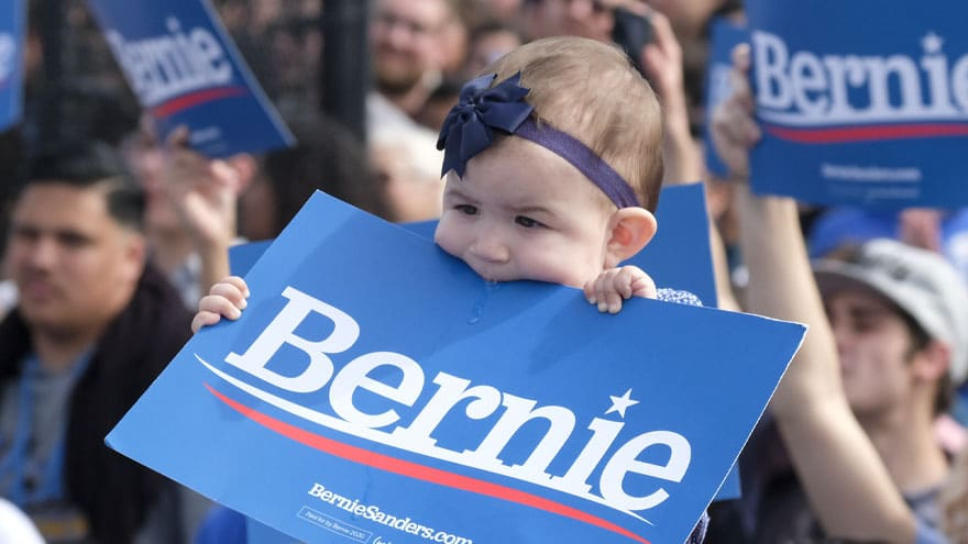 image for NANNY STATE! Bernie Unveils New 'Free Child Care' Plan for Infants to 4-...