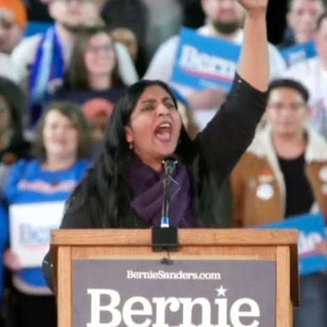 SOME INTRO! Bernie Speaker Says We Need 'Socialist Movement' to 'End Capitalist Oppression!'
