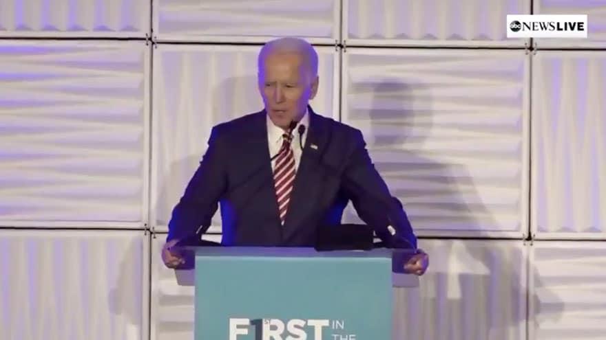 image for BIDEN IN CAROLINA: 'My Name is Joe Biden, I'm a Democratic Candidate for...