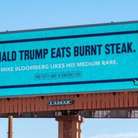 THAT'S IT? Social Media MOCKS Mike Bloomberg's 'Anti-Trump' Billboards in Arizona