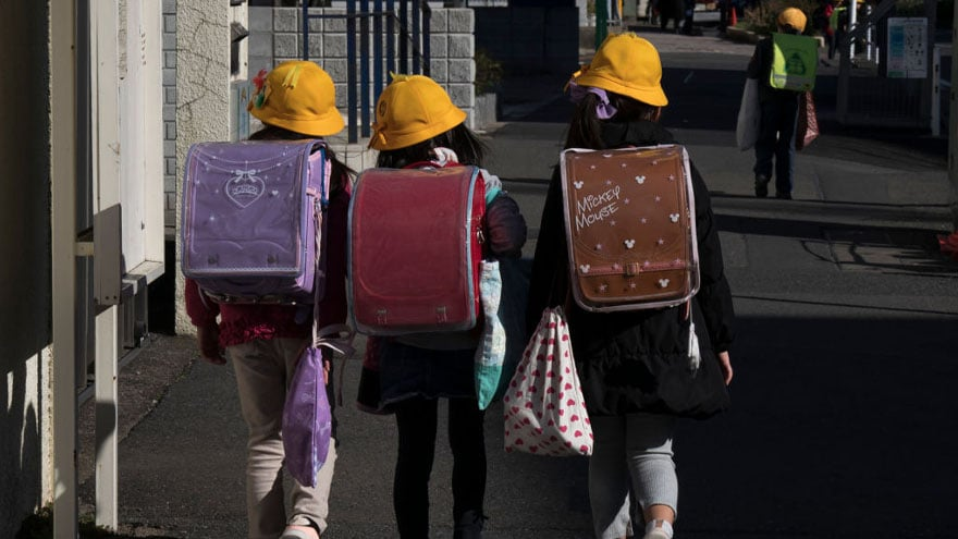 image for DRASTIC MEASURES: Japanese Prime Minister Closes All Schools for 1 Month...